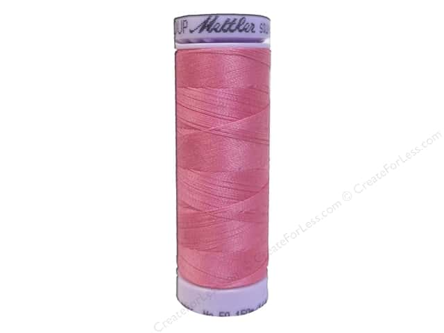 Mettler Silk Finish Cotton Thread 50 wt. 164 yd. #0067 Roseate