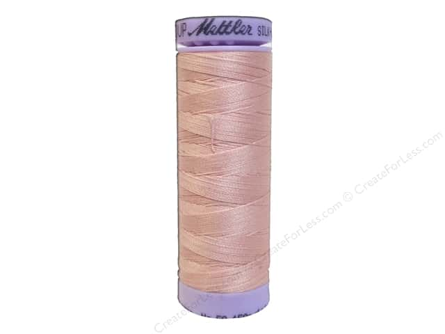 Mettler Silk Finish Cotton Thread 50 wt. 164 yd. #0075 Shell