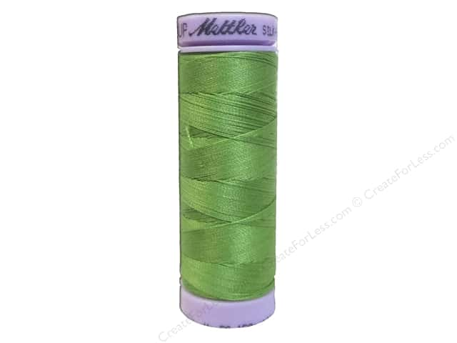 Mettler Silk Finish Cotton Thread 50 wt. 164 yd. #0092 Bright Mint