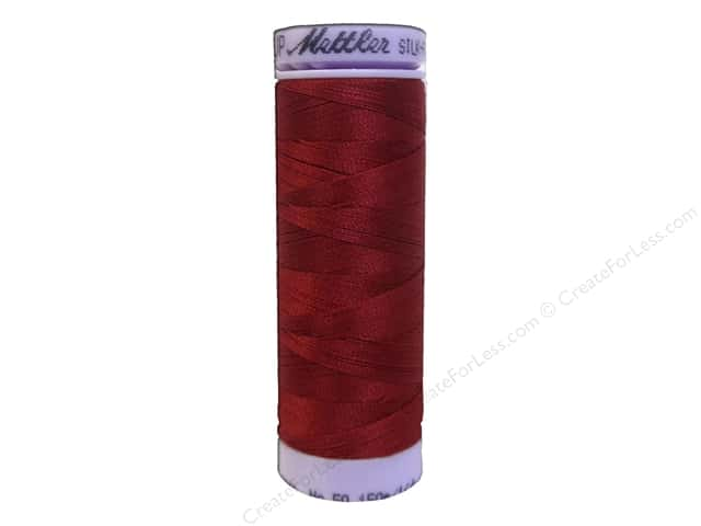 Mettler Silk Finish Cotton Thread 50 wt. 164 yd. #0105 Fire Engine