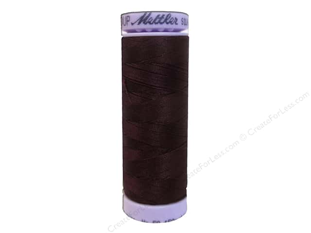 Mettler Silk Finish Cotton Thread 50 wt. 164 yd. #0111 Beet Red