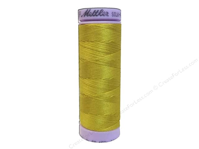 Mettler Silk Finish Cotton Thread 50 wt. 164 yd. #0117 Nugget Gold