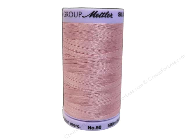 Mettler Silk Finish Cotton Thread 50 wt. 547 yd. #0803 Rose Quartz
