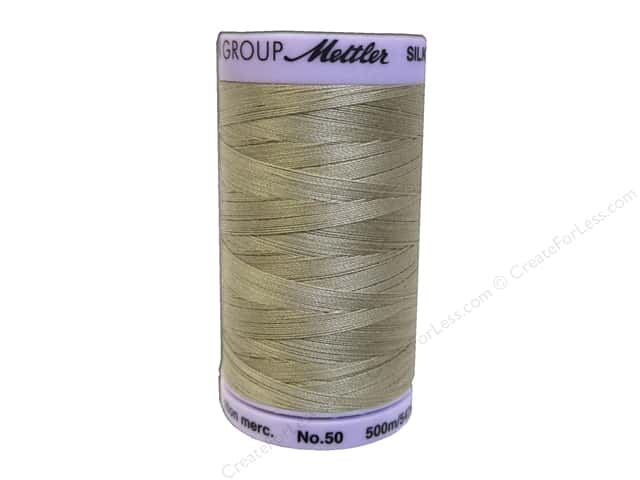 Mettler Silk Finish Cotton Thread 50 wt. 547 yd. #0844 Sandstone