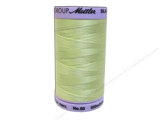 Mettler Silk Finish Cotton Thread 50 wt. 547 yd. #0893 Spring Green