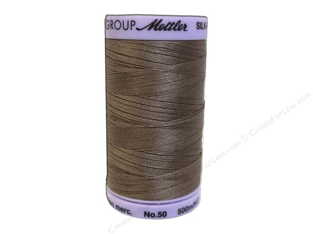 Mettler Silk Finish Cotton Thread 50 wt. 547 yd. #0615 Espresso