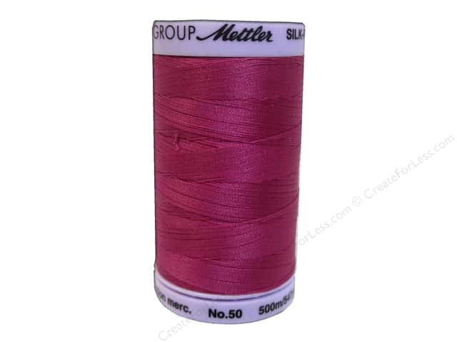 Mettler Silk Finish Cotton Thread 50 wt. 547 yd. #0959 Peony