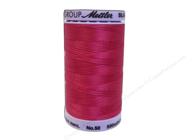 Mettler Silk Finish Cotton Thread 50 wt. 547 yd. #0960 Fuchsia