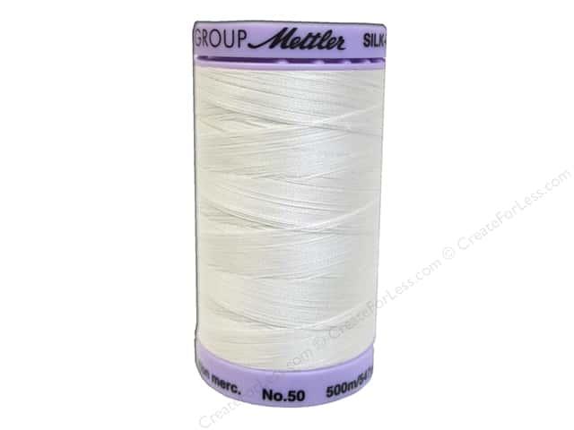 Mettler Silk Finish Cotton Thread 50 wt. 547 yd. #0887 Candlewick