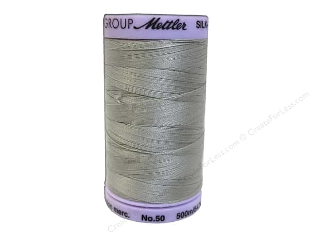 Mettler Silk Finish Cotton Thread 50 wt. 547 yd. #0713 Drizzle