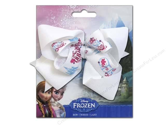 Simplicity Hair Bow Grosgrain Disney Frozen Names