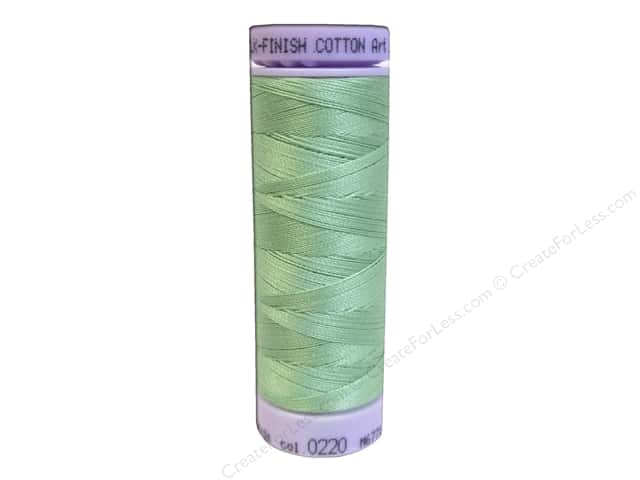 Mettler Silk Finish Cotton Thread 50 wt. 164 yd. #0220 Meadow