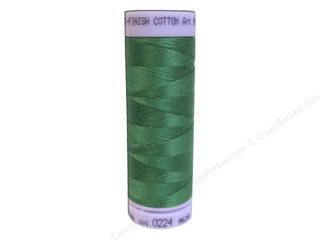Mettler Silk Finish Cotton Thread 50 wt. 164 yd. #0224 Kelley