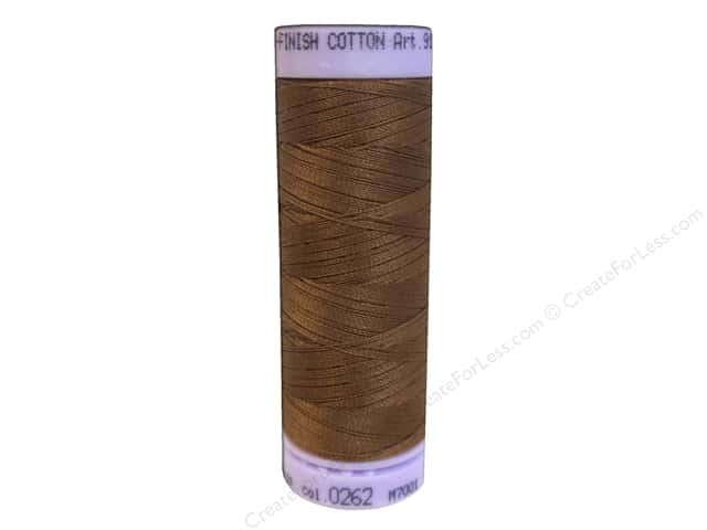 Mettler Silk Finish Cotton Thread 50 wt. 164 yd. #0262 Penny