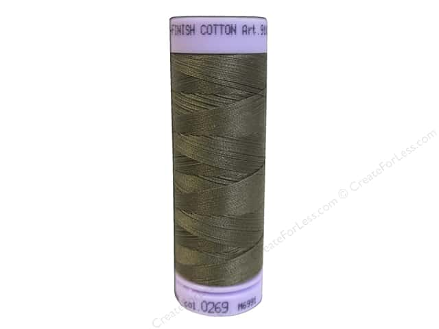 Mettler Silk Finish Cotton Thread 50 wt. 164 yd. #0269 Amygdala