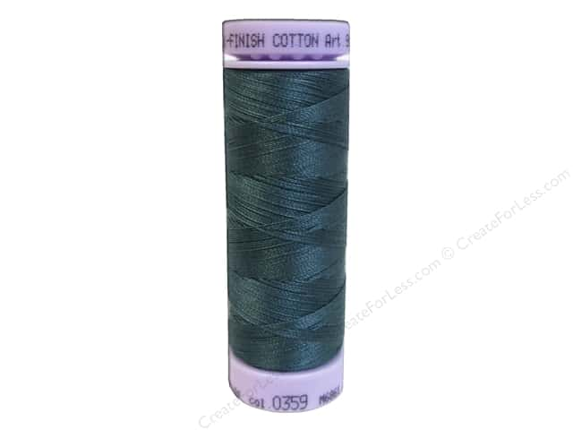 Mettler Silk Finish Cotton Thread 50 wt. 164 yd. #0359 Shaded Spruce