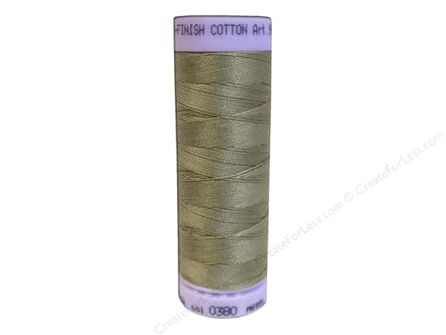 Mettler Silk Finish Cotton Thread 50 wt. 164 yd. #0380 Dried Clay