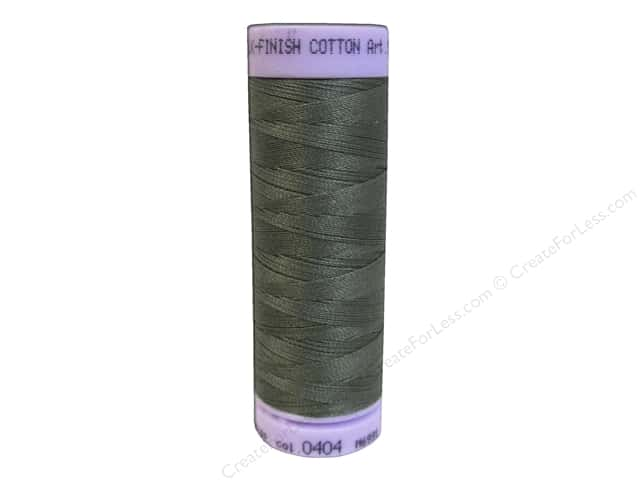 Mettler Silk Finish Cotton Thread 50 wt. 164 yd. #0404 Olivine