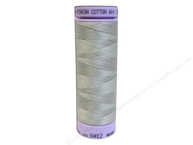 Mettler Silk Finish Cotton Thread 50 wt. 164 yd. #0412 Fieldstone