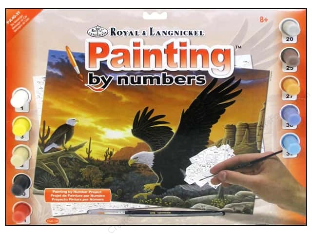Royal Paint By Number Kit Large Sky Messenger