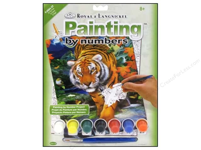 Royal Paint By Number Kit On The Prowl