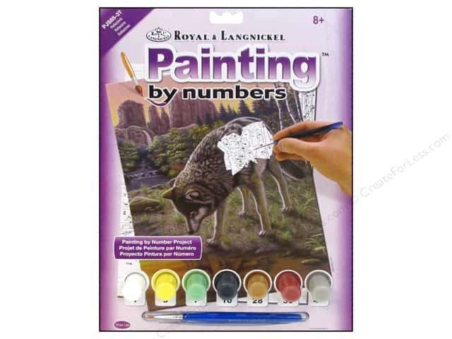 Royal Paint By Number Kit Reflections