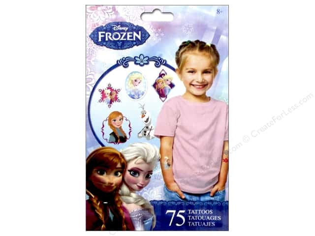 SandyLion Tattoo Disney Frozen 75 pc.