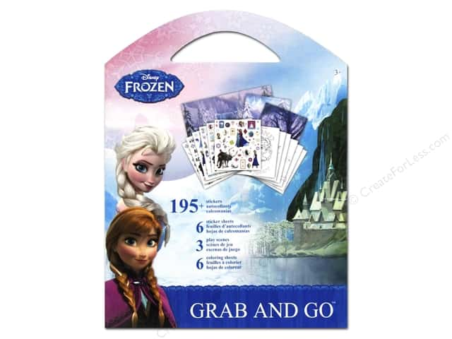SandyLion Sticker Grab & Go Disney Frozen