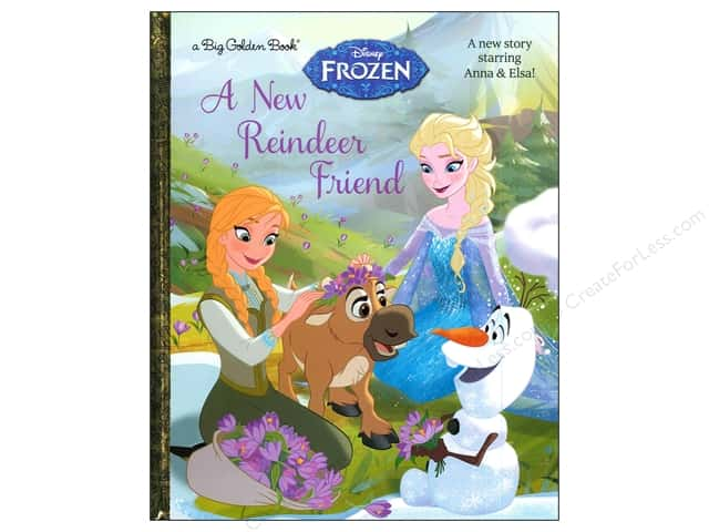Golden Disney Frozen A New Reindeer Friend Big Book
