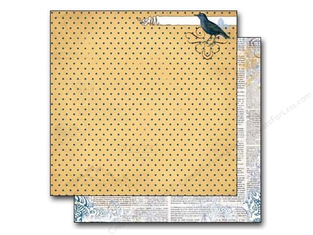Bo Bunny 12 x 12 in. Paper Rose Cafe Dot (25 sheets)