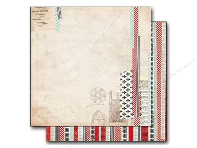 Bo Bunny 12 x 12 in. Paper Star-Crossed Collection Washi (25 sheets)
