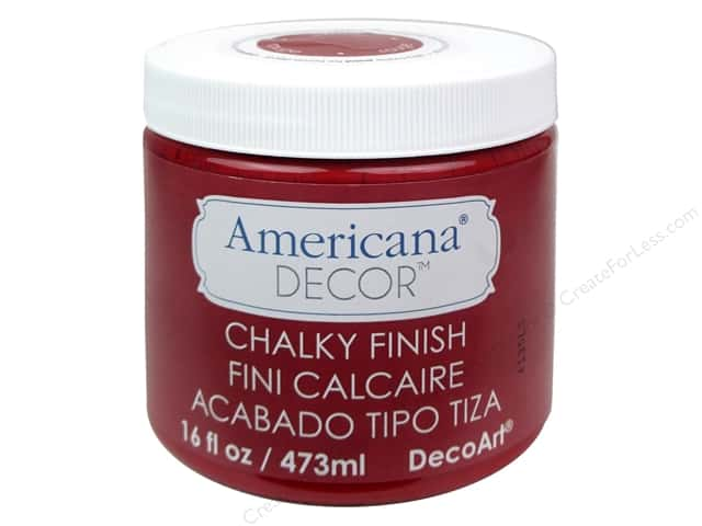 DecoArt Americana Decor Chalky Finish 16 oz. Rouge