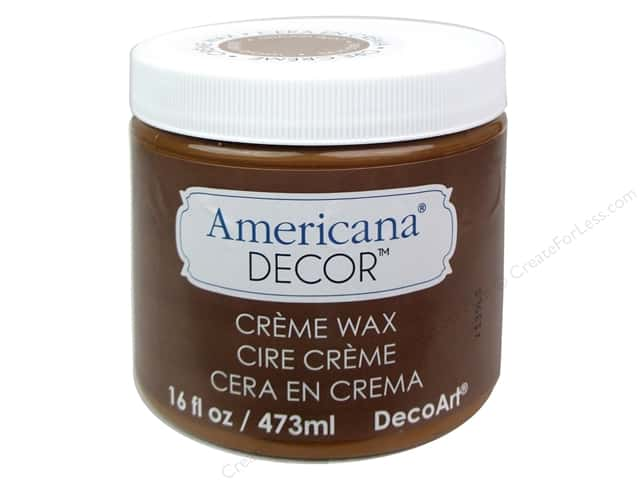 DecoArt Americana Decor Creme Wax 16 oz. Golden Brown