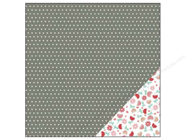 Pebbles 12 x 12 in. Paper We Go Together Budding Romance (25 sheets)