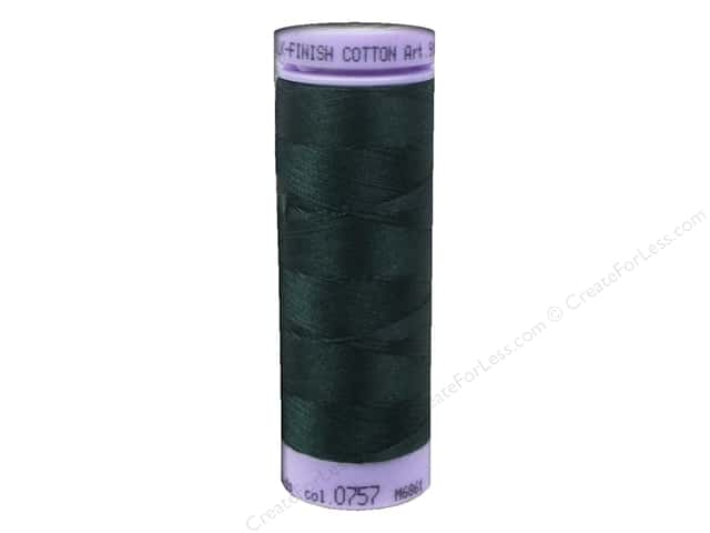 Mettler Silk Finish Cotton Thread 50 wt. 164 yd. #0757 Swamp
