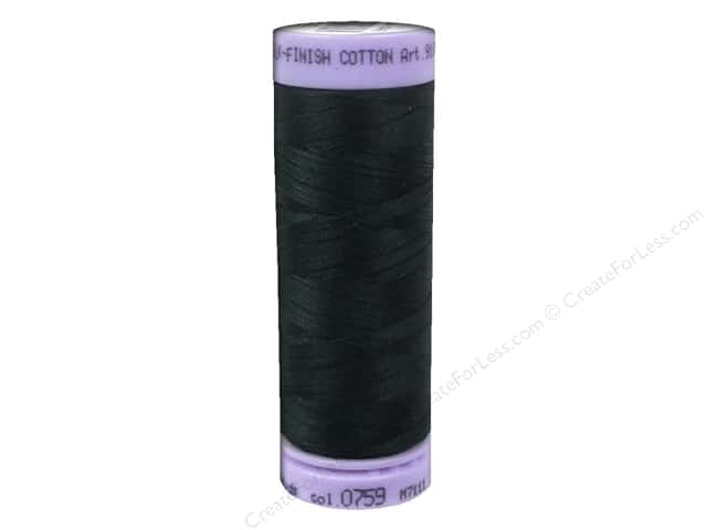 Mettler Silk Finish Cotton Thread 50 wt. 164 yd. #0759 Spruce Forest