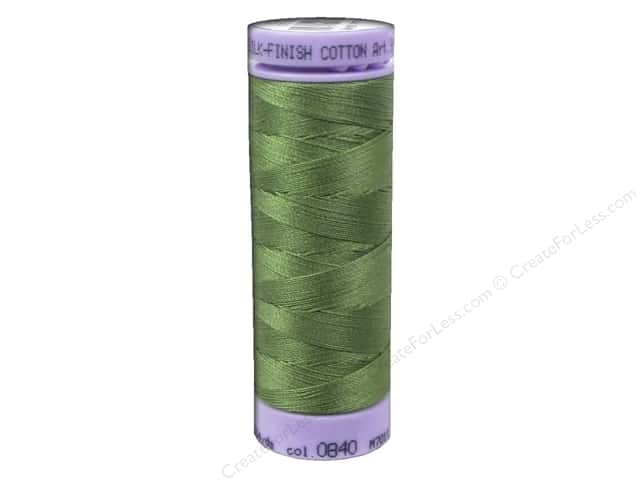 Mettler Silk Finish Cotton Thread 50 wt. 164 yd. #0840 Common Hop