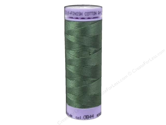 Mettler Silk Finish Cotton Thread 50 wt. 164 yd. #0844 Asparagus