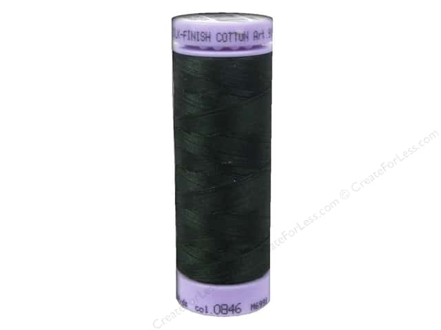 Mettler Silk Finish Cotton Thread 50 wt. 164 yd. #0846 Enchanted Forest