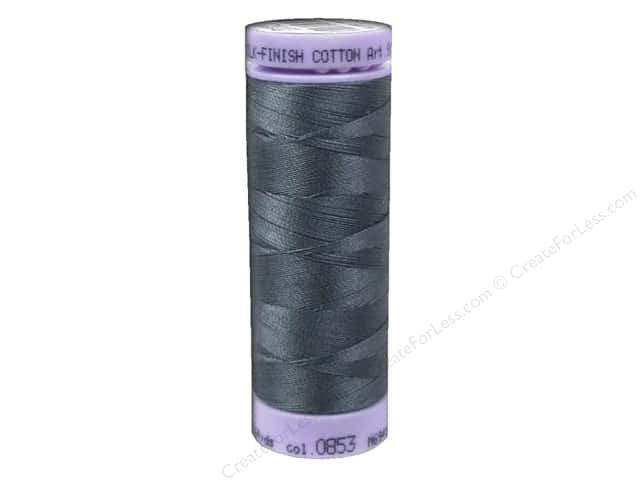 Mettler Silk Finish Cotton Thread 50 wt. 164 yd. #0853 Quiet Shade