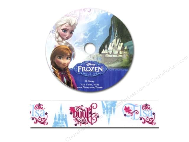 Simplicity Ribbon Grosgrain Disney Frozen Names