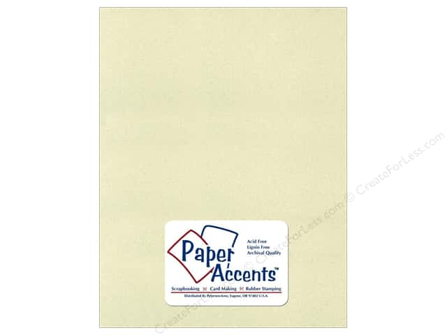 Cardstock 8 1/2 x 11 in. Recycled Light Moss by Paper Accents (25 sheets)