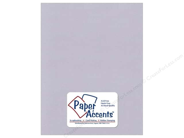 Cardstock 8 1/2 x 11 in. Recycled Blue Mist by Paper Accents (25 sheets)