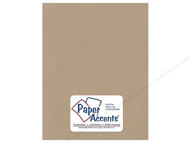 Cardstock 8 1/2 x 11 in. Recycled Concrete by Paper Accents (25 sheets)
