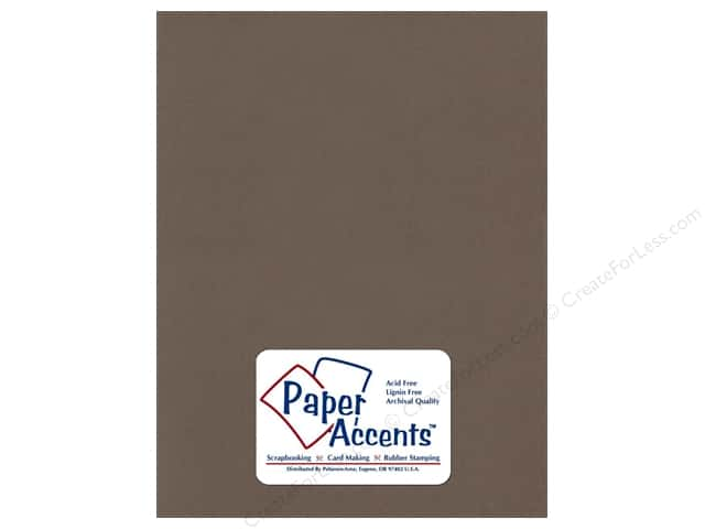 Paper Accents Cardstock 8 1/2 x 11 in. #376  Recycled Wrought Iron (25 sheets)