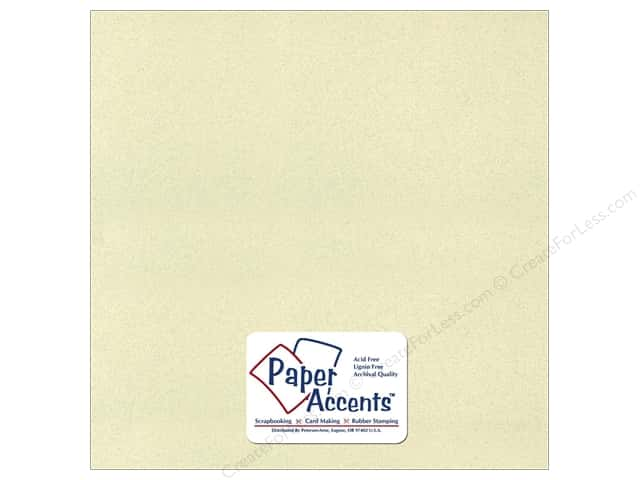 Cardstock 12 x 12 in. Recycled Light Moss by Paper Accents (25 sheets)