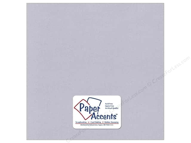 Paper Accents Cardstock 12 x 12 in. #370 Recycled Blue Mist (25 sheets)