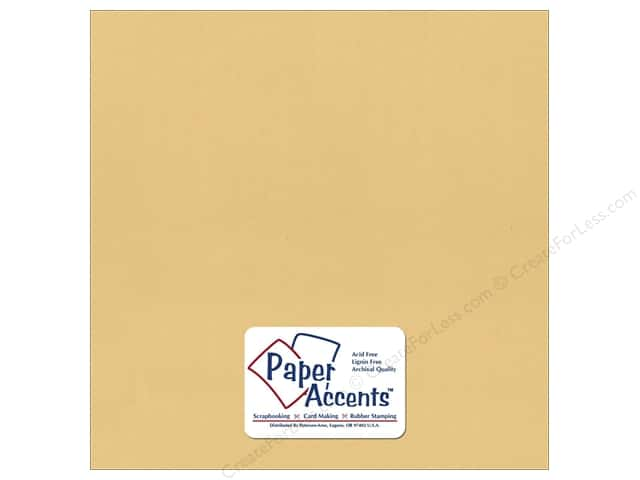 Paper Accents Cardstock 12 x 12 in. #373 Recycled Wheat (25 sheets)