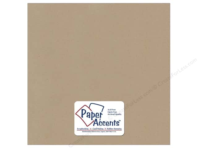 Paper Accents Cardstock 12 x 12 in. #375 Recycled Concrete (25 sheets)