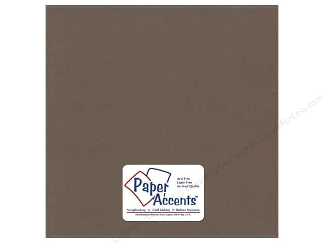 Cardstock 12 x 12 in. Recycled Wrought Iron by Paper Accents (25 sheets)